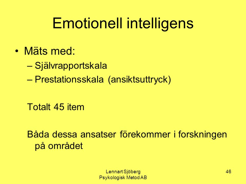 Emotionell intelligens