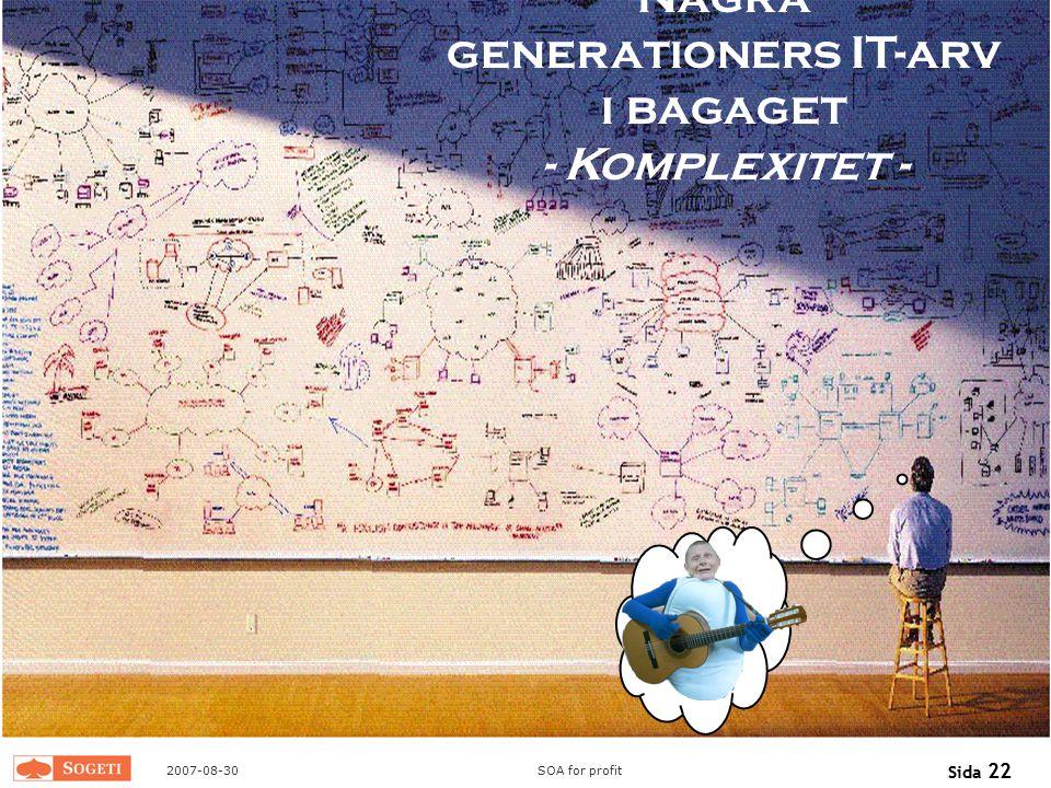 Några generationers IT-arv i bagaget - Komplexitet -