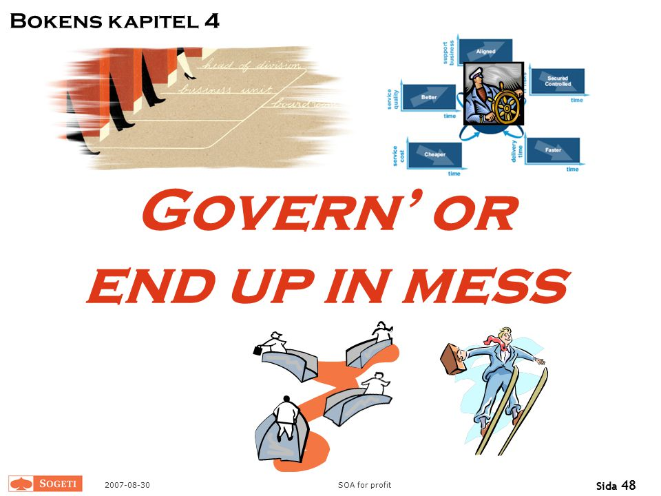 Govern' or end up in mess