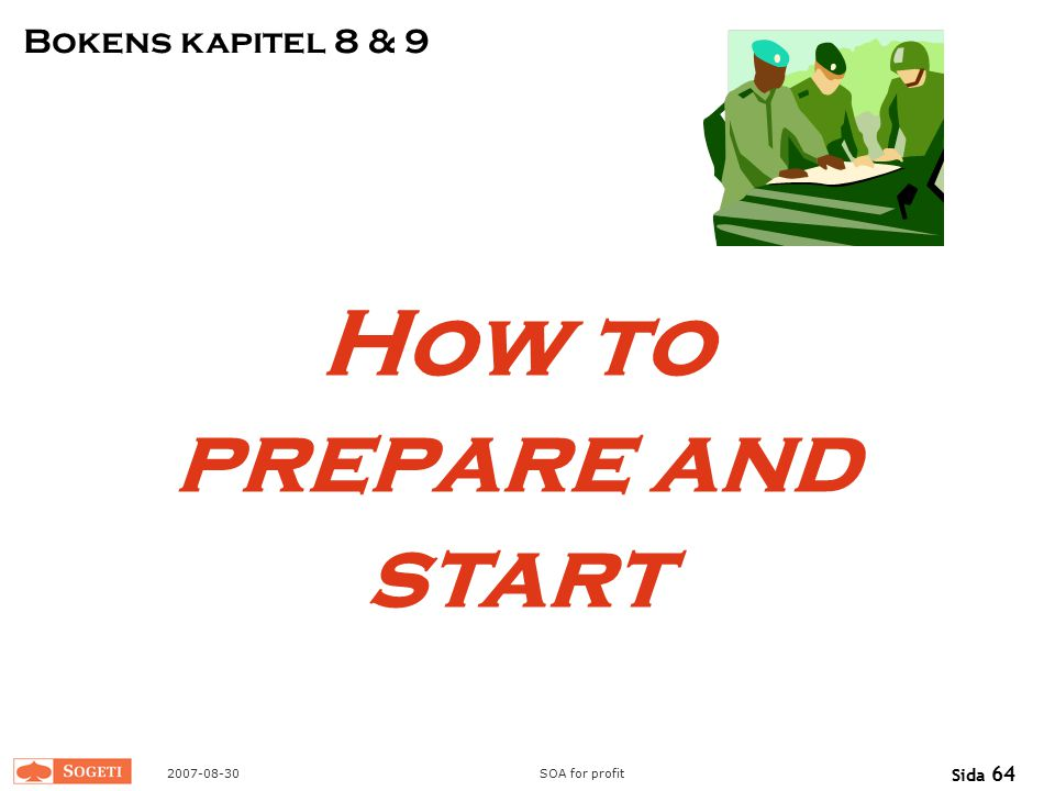 How to prepare and start