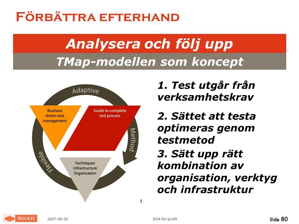 TMap-modellen som koncept