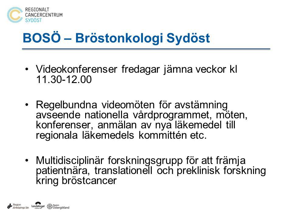 BOSÖ – Bröstonkologi Sydöst