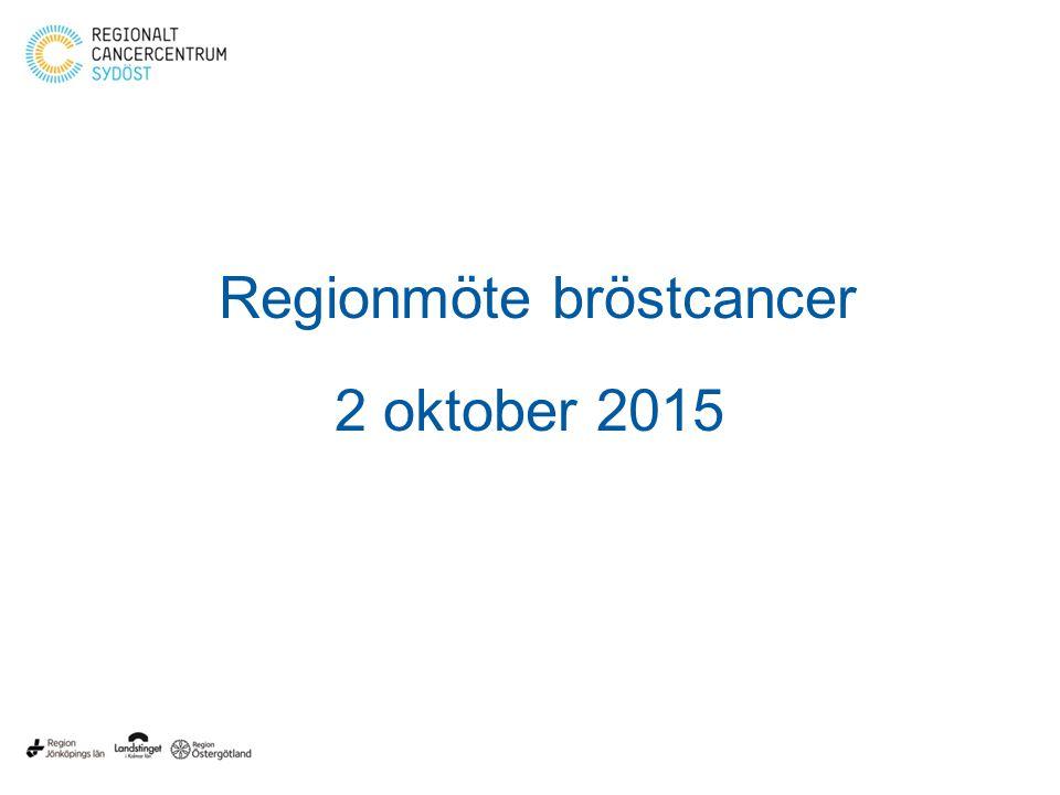 Regionmöte bröstcancer