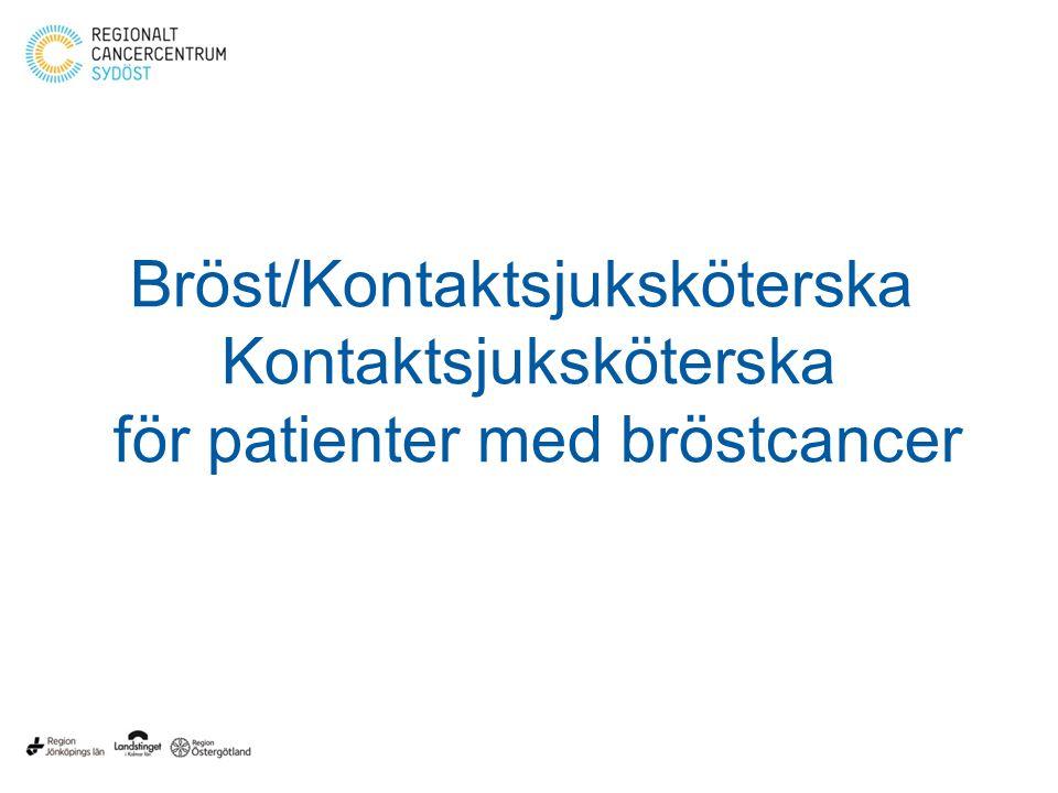 Bröst/Kontaktsjuksköterska Kontaktsjuksköterska