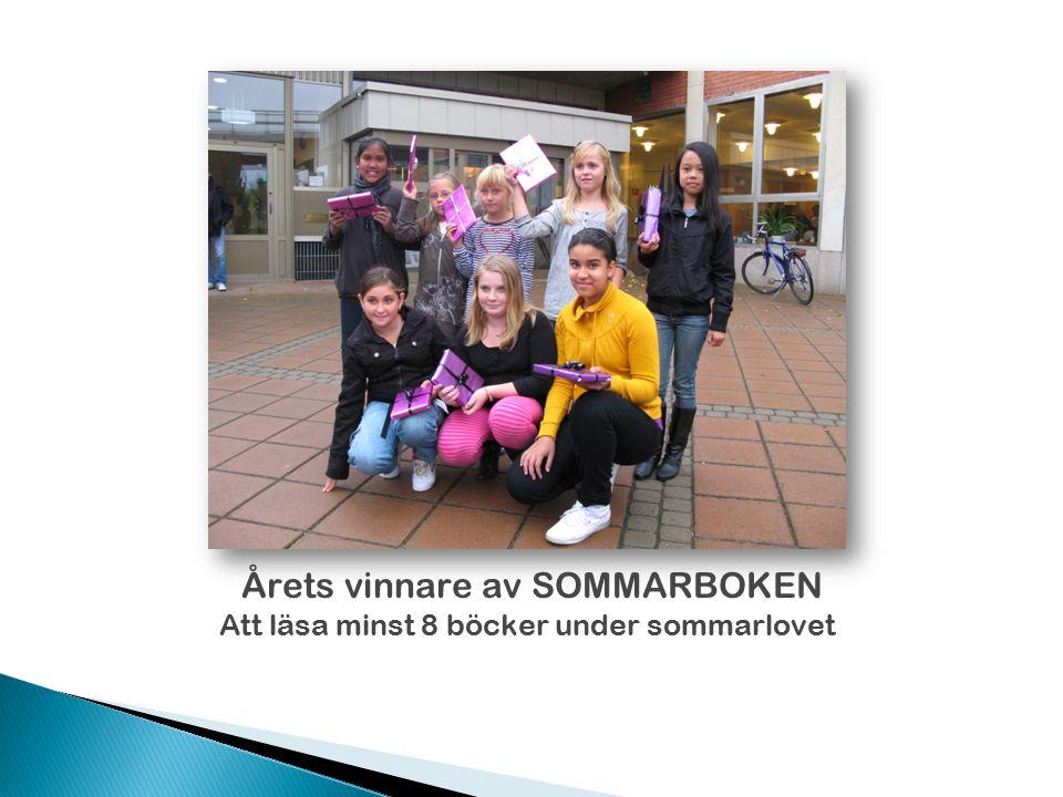 Årets vinnare av SOMMARBOKEN
