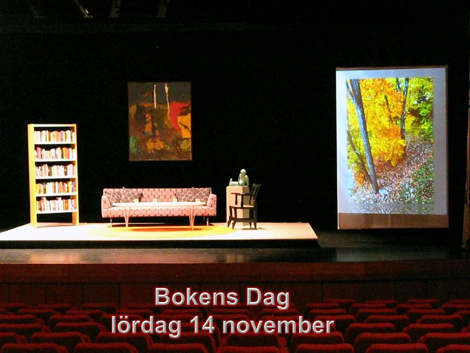 Bokens Dag lördag 14 november