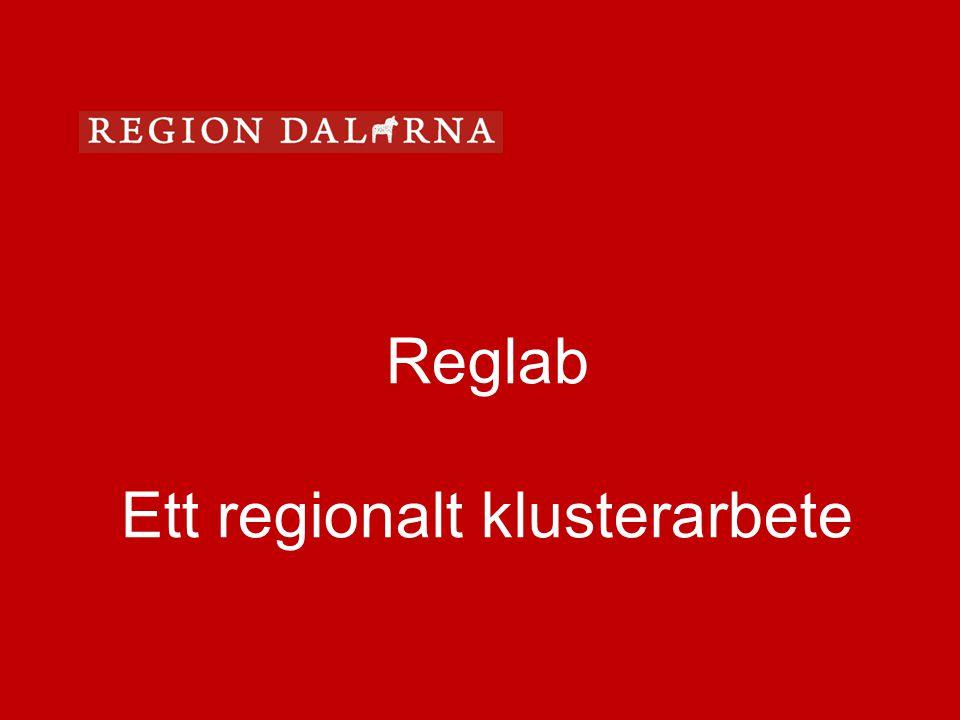 Ett regionalt klusterarbete