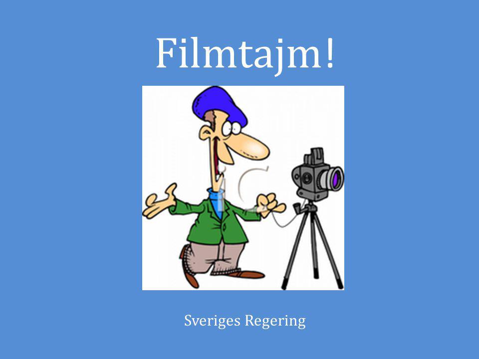 Filmtajm! Sveriges Regering