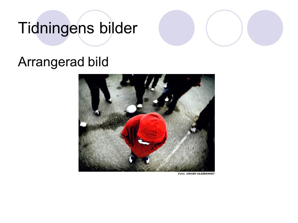 Tidningens bilder Arrangerad bild