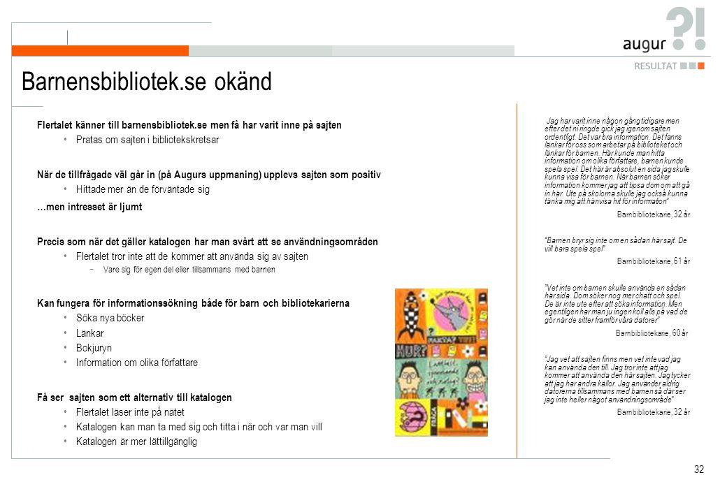 Barnensbibliotek.se okänd