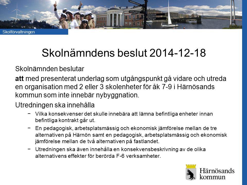 Skolnämndens beslut 2014-12-18