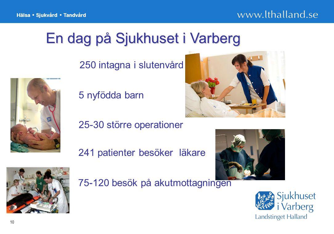 En dag på Sjukhuset i Varberg