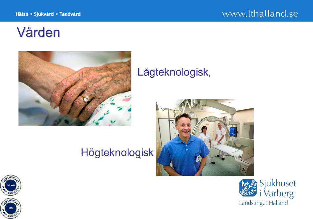 Vården Lågteknologisk, Högteknologisk