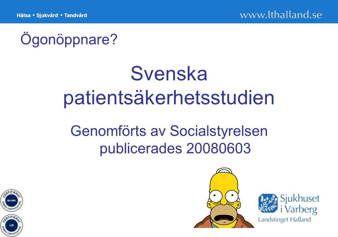 Svenska patientsäkerhetsstudien