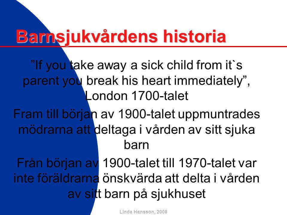 Barnsjukvårdens historia
