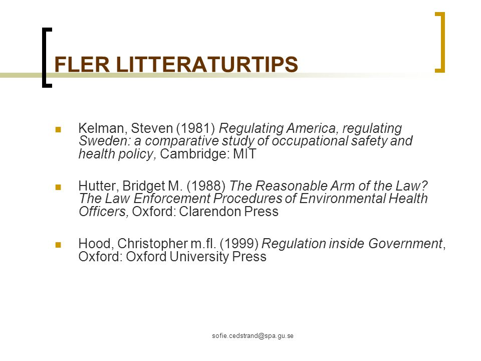 FLER LITTERATURTIPS