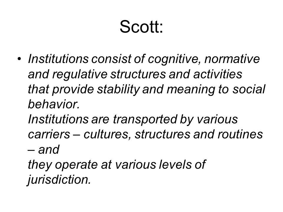 Scott: