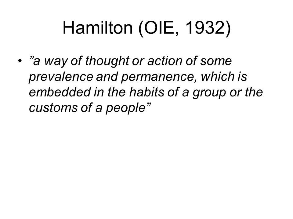 Hamilton (OIE, 1932)
