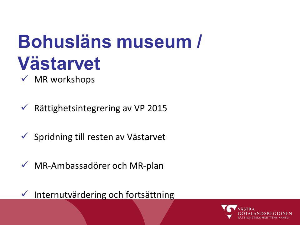 Bohusläns museum / Västarvet