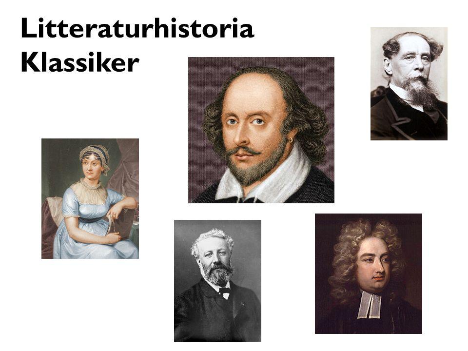 Litteraturhistoria Klassiker
