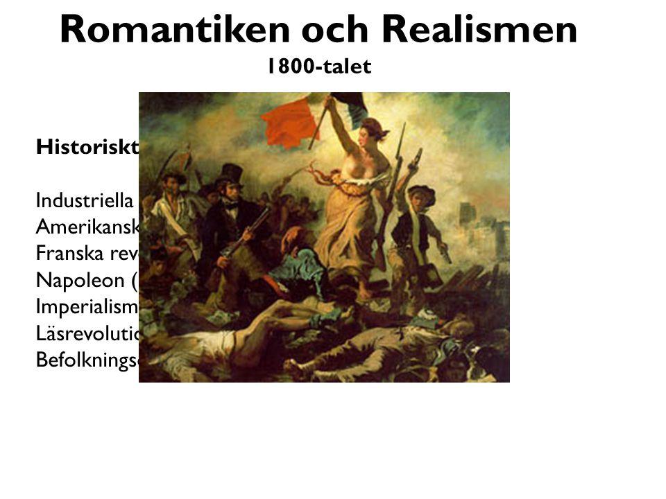 Romantiken och Realismen