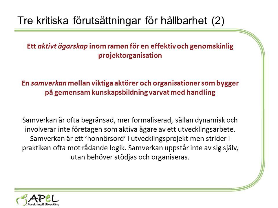 Tre kritiska förutsättningar för hållbarhet (2)
