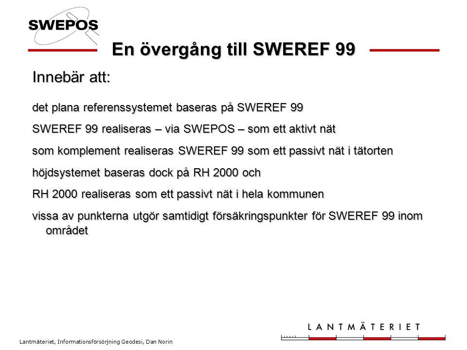 En övergång till SWEREF 99