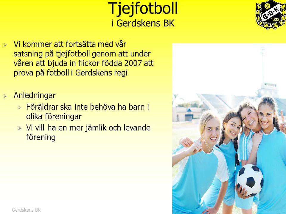 Tjejfotboll i Gerdskens BK