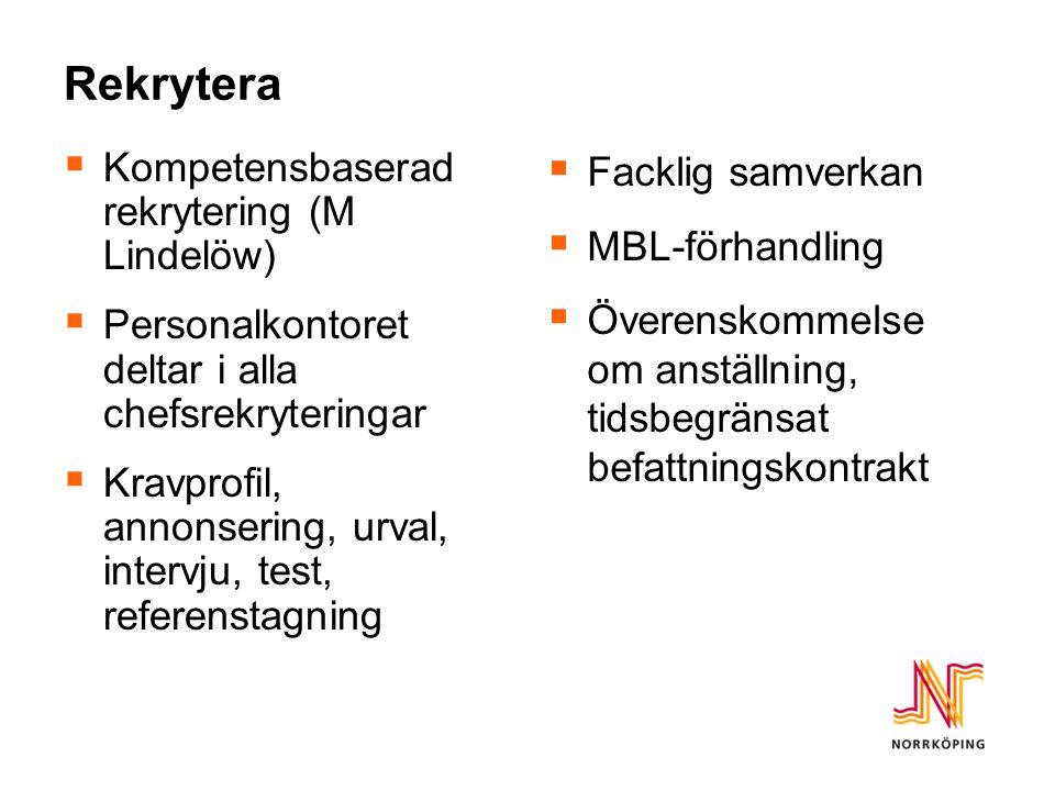 Rekrytera Kompetensbaserad rekrytering (M Lindelöw)