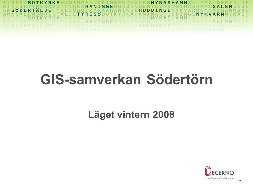 GIS-samverkan Södertörn
