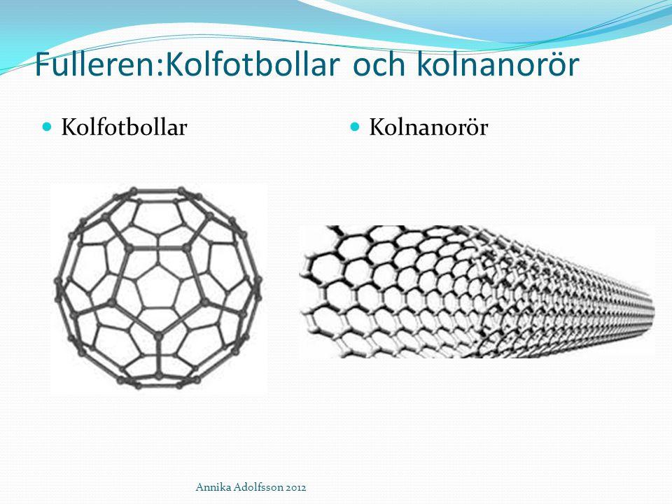 Fulleren:Kolfotbollar och kolnanorör