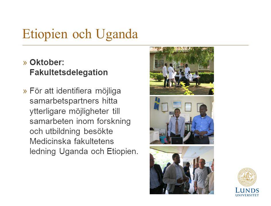 Etiopien och Uganda Oktober: Fakultetsdelegation