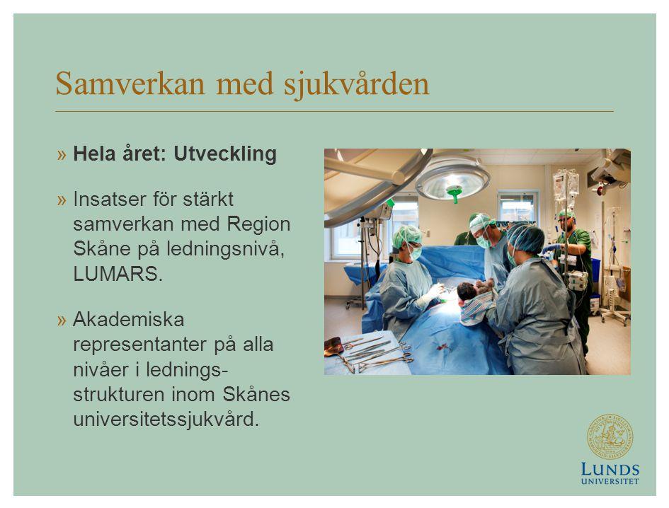 Samverkan med sjukvården