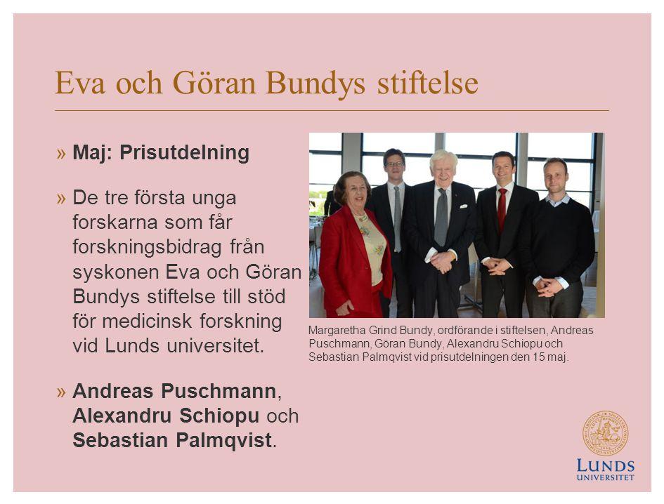 Eva och Göran Bundys stiftelse