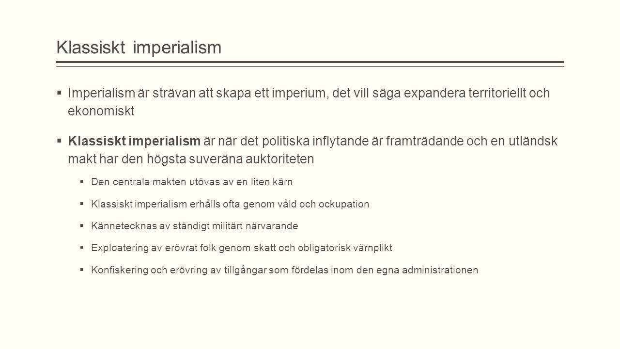 Klassiskt imperialism