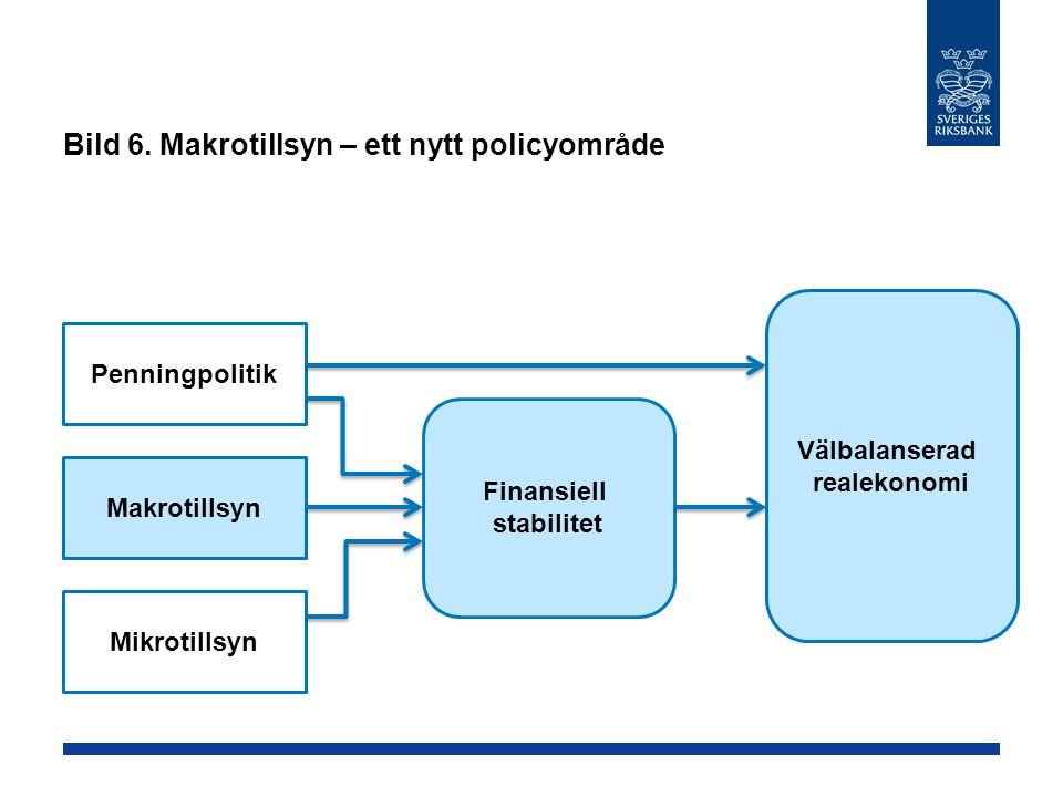 Bild 6. Makrotillsyn – ett nytt policyområde
