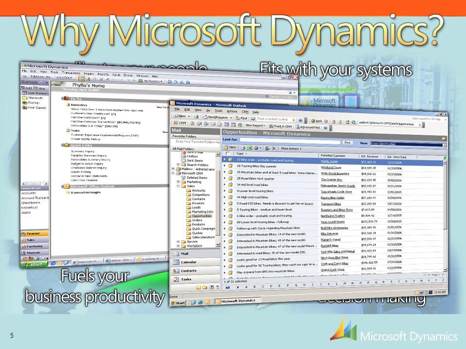 Why Microsoft Dynamics