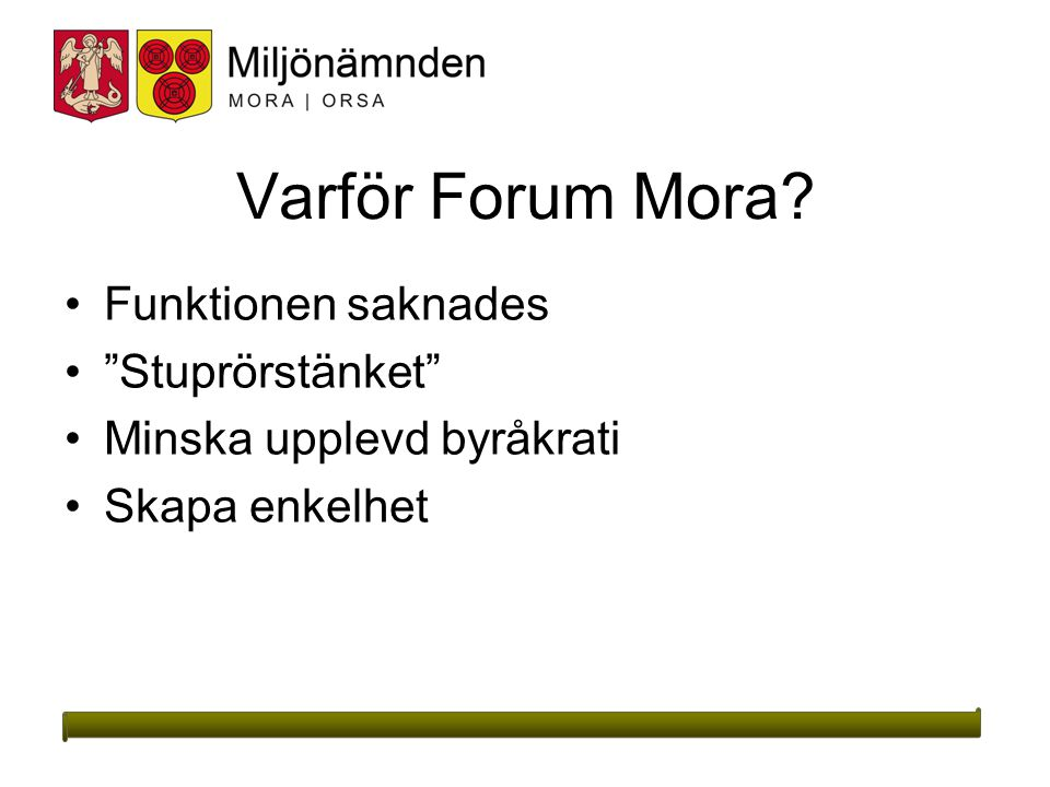 Varför Forum Mora Funktionen saknades Stuprörstänket