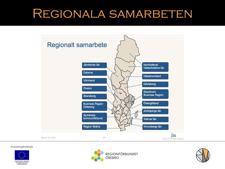 Regionala samarbeten