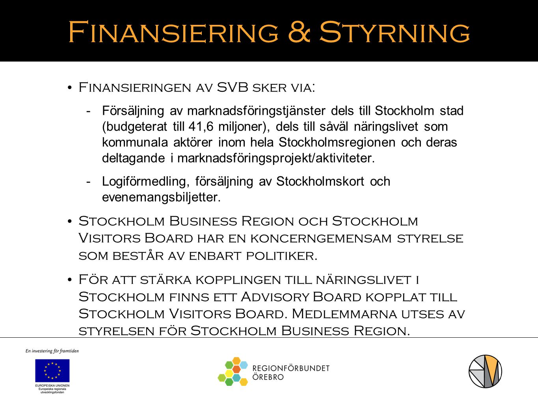 Finansiering & Styrning
