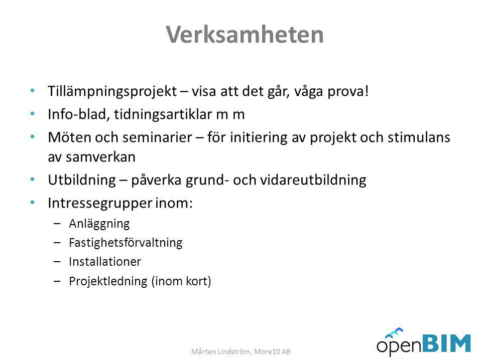 Mårten Lindström, More10 AB