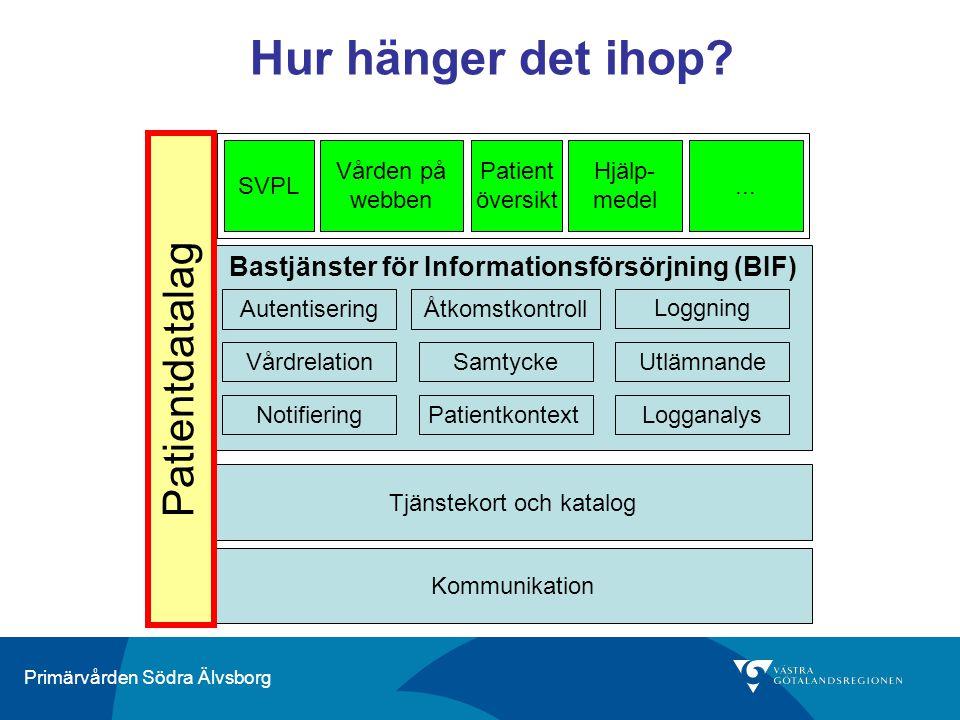 Bastjänster för Informationsförsörjning (BIF)