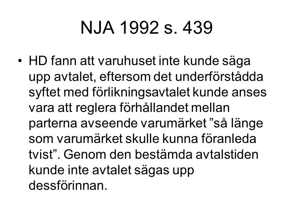 NJA 1992 s. 439