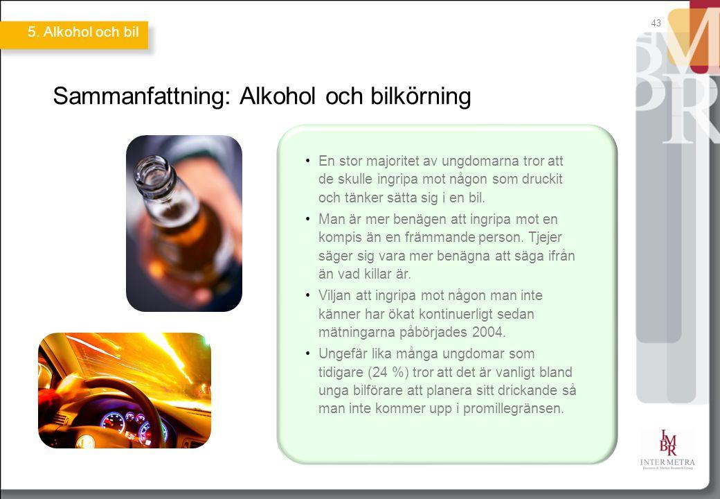 Sammanfattning: Alkohol och bilkörning