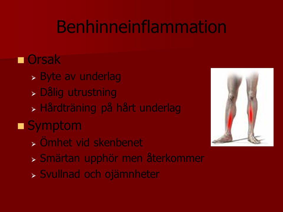 Benhinneinflammation