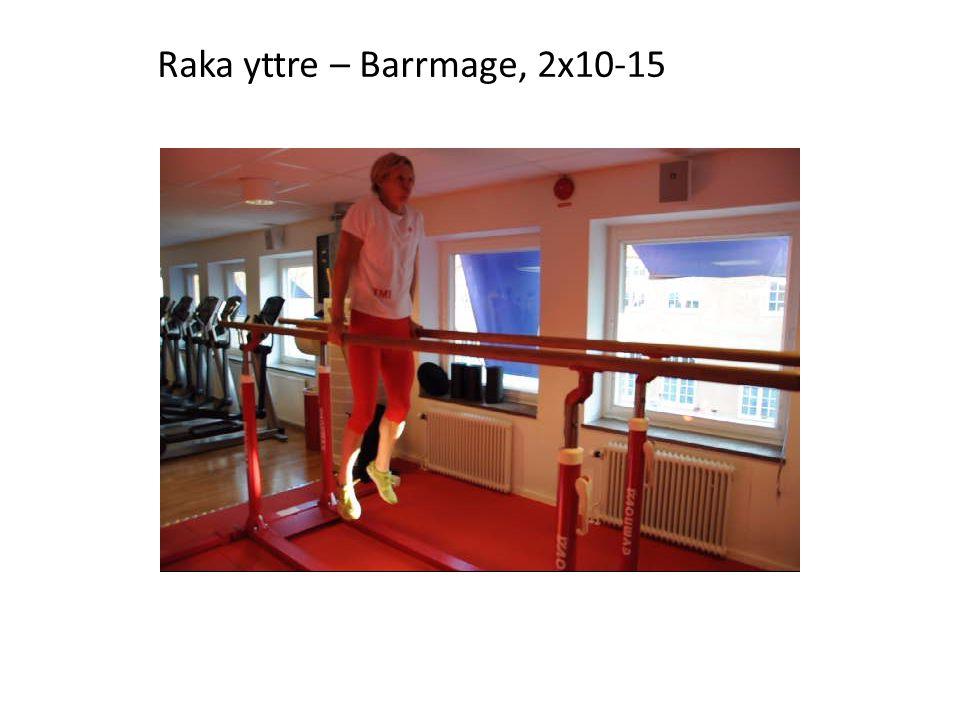 Raka yttre – Barrmage, 2x10-15