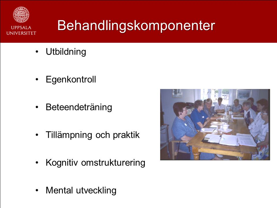 Behandlingskomponenter