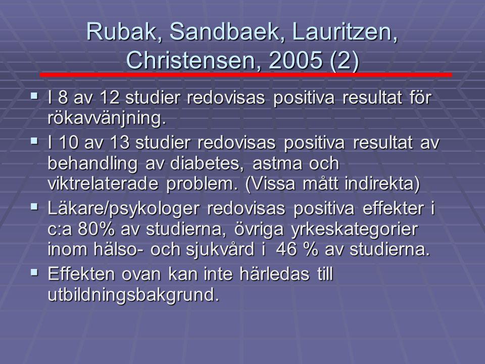 Rubak, Sandbaek, Lauritzen, Christensen, 2005 (2)