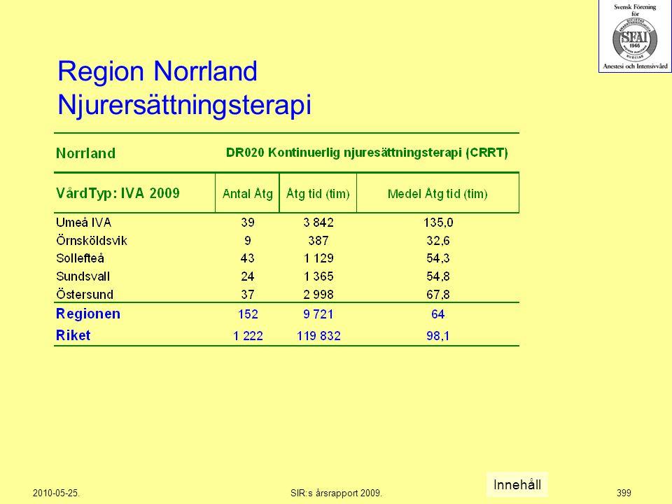 Region Norrland Njurersättningsterapi
