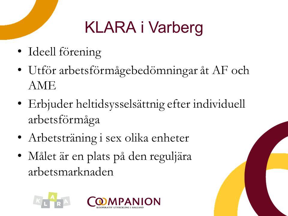 KLARA i Varberg Ideell förening